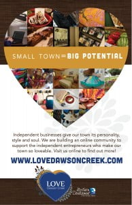 Small Town Love Poster
